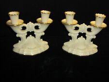 Vintage Lenox Cornucopia Candleholders