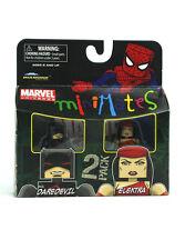 Marvel Minimates Evil Daredevil & Elektra Series Wave 38 Figures New In Box