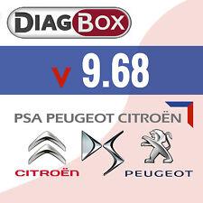 Logiciel diagbox 9.68 pour Citroen / Peugeot / DS