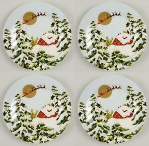 Stoneware Santa Claus Plate Seasonal Table Décor Serving Pieces For Sale Ebay