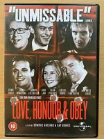 Love Honour and Obey DVD Ray Winstone British Gangster Movie Classic