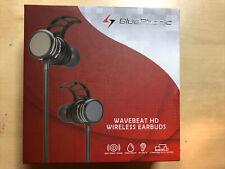 Bluephonic WaveBeat Bluetooth Headphones, Magnetic Wireless Earbuds W/Microphone