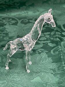 Swarovski Giraffe Figurine