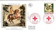2946  FDC  ENVELOPPE 1er JOUR  SUR  SOIE     CROIX ROUGE    SAUMUR
