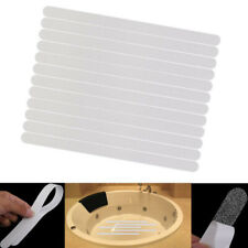 12x Safety Anti Slip Grip Strips Flooring Bathroom Shower Bathtub Stickers