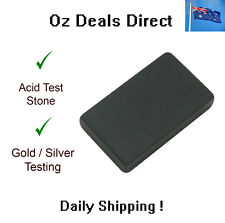 Acid Scratch Test Stone for Silver Gold Platinum Metal, jewelry antique testing