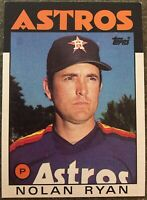 1986 TOPPS NOLAN RYAN CARD #100 IN EX/NRMT CONDITION! AWESOME CARD!
