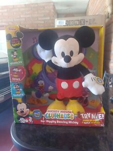 2006 Mickey Mouse Clubhouse Hot Diggity Dance & Play Mickey  * Disney Party