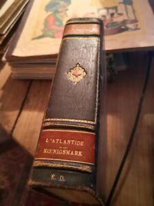 livre L' Atlantide Pierre Benoît. Edition reliée 1919 Albin Michel