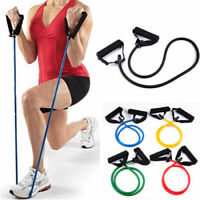 Hot Sale! Resistance Band 1PC Yoga Pilates Exercise Fitness Tube Workout Bands