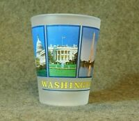 Shot Glass, Washington D.C., Blue