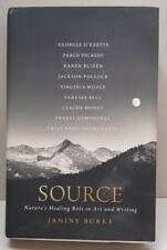 Janine Burke SOURCE Nature's Healing Role In Art & Writing 1st ed HC Book JK24,