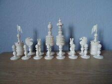 antique large chess set