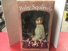 Anne Geddes Baby Squirrels Doll