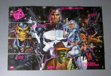 Huge 1990's Punisher poster! Original 1992 Marvel Comics 50 by 34 promotional
