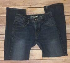 Boys Levi Jeans Regular Straight Adjustable Sz 10