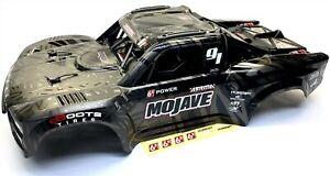 Arrma MOJAVE 6s EXB - Body Shell (BLACK cover & Interior roll cage ARA7204