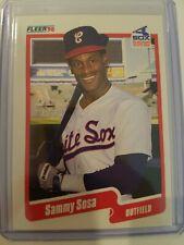 1990 Fleer Sammy Sosa #548 Rookie
