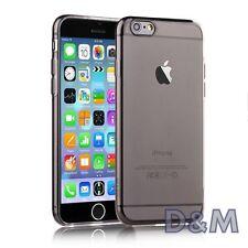 Cover per Apple iPhone 6 6S Custodia SLIM Morbida TPU Gel Grigio