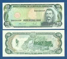 DOMINICAN REPUBLIC -- 10 PESOS ORO ( 1988 ) -- UNC -- PICK 119c .