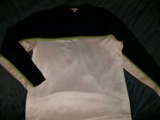 Maurices Retro Iz It U Polyester Midweight Long Sleeve Pullover Shirt Men's L