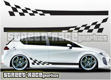 Seat side 014 racing stripes graphics stickers decals Leon Ibiza Cupra FR Sport