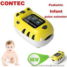 Pediatric Fingertip Pulse Oximeter Child Spo2 Monitor Pr Infant Blood Oxygen Kid