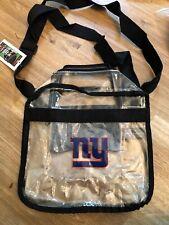 Nfl New York Giants Clear Carryall Crossbody Stadium Friendly Bag