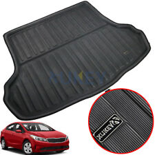 Rear Cargo Trunk Boot Mat Liner Floor Tray For Kia Forte K3 Cerato Sedan 2014-18