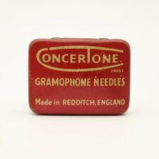 GRAMOPHONE NEEDLE TIN - Concertone Gramophone Needles [NEEDLE TIN]