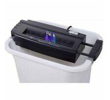 Wastebasket/Trash Can Bin Mountable Home Straight-Cut Credit Card/Paper Shredder
