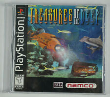 Treasures of the Deep (PlayStation 1 PS1) Game Black Label EX+