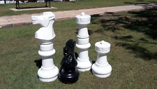 Super Giant Outdoor Chess Set (Pieces Only)