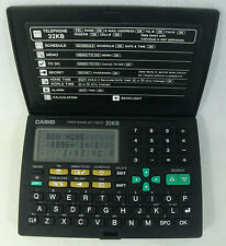 Casio Data Bank DC-7800 32 Organiseur personnel calculatrice alarme Scheduler Works