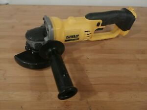 "Dewalt DCG412 20V Cordless Battery Angle Grinder 4 1/2"" 20 Volt MAX Cut-Off Used"