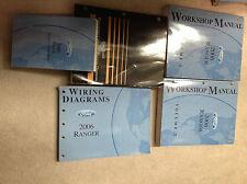 2006 FORD RANGER TRUCK Service Shop Repair Manual Set W PCED & EWD + SPECS BOOKS