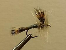 1 Dozen - Wulff Gray -  Dry Fly - Trout