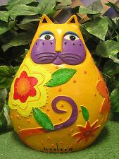 Lg Fat Kitten Hello Kitty Cat Latex Fiberglass Production Mold Concrete Plaster
