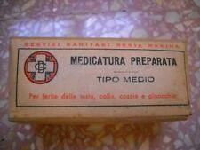 PACCO MEDICAZIONE REGIA MARINA ITALIANA FIRST AID ITALIAN ORIGINALE 2GM