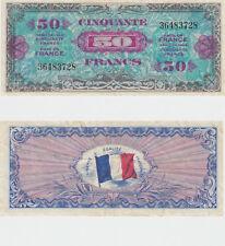 Billet du Trésor 50  FRANCS DRAPEAU  JUIN 1944 Sans série N° 36483728