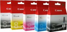 5 original Canon Patronen  Pixma  IP4500 NEU 5-PGBK CLI-8 M/C/Y/BK OVP