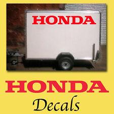 ** Nuevo 2x grandes Honda Etiqueta calcomanías Van Trailer Motocross Jet ho-05
