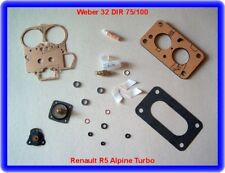 Renault r5 Alpine turbo, weber 32 te Carburateur rep. Kit