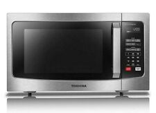 Toshiba 1.6 cu. ft. Stainless Steel 1200 Watt Microwave Oven with Inverter Tech