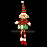 Elf Shelf Sitter Christmas Decoration / Gift 40cm Christmas mantel decoration