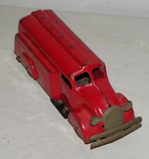 Pressed Steel Antique Gasoline Tanker Toy Wyandotte Toys