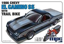 MPC 1/25 1986 Chevy El Camino w/Dirt Bike Plastic Model Kit MPC888