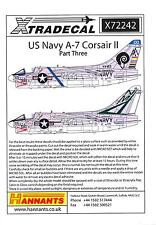 Xtra Decals 1/72 L.T.V. A-7 CORSAIR II U.S. Navy Attack Plane Part 3