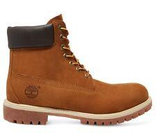 "Timberland 6"" Premium Mens 72066 Rust Nubuck Primaloft Waterproof Boots Size 9"