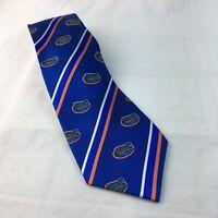 "Dress Tie  Florida Gators Eagles Wings Mens Necktie Blue 57"""